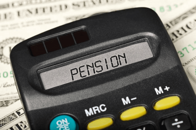 Word Pension On Calculator