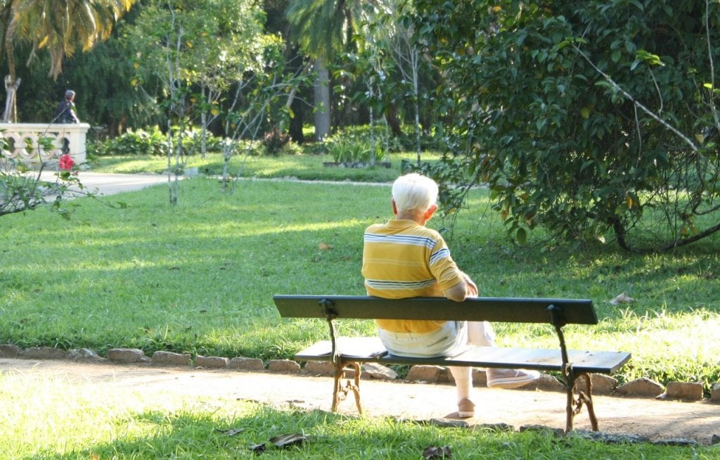 A perfect Home for retirement can be a place where you can sit and relax near your garden area