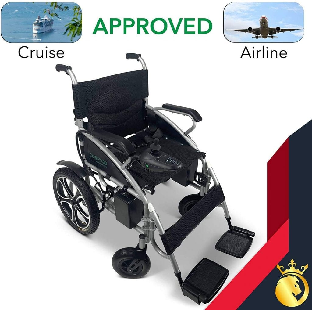 Airline approved electric wheelchair