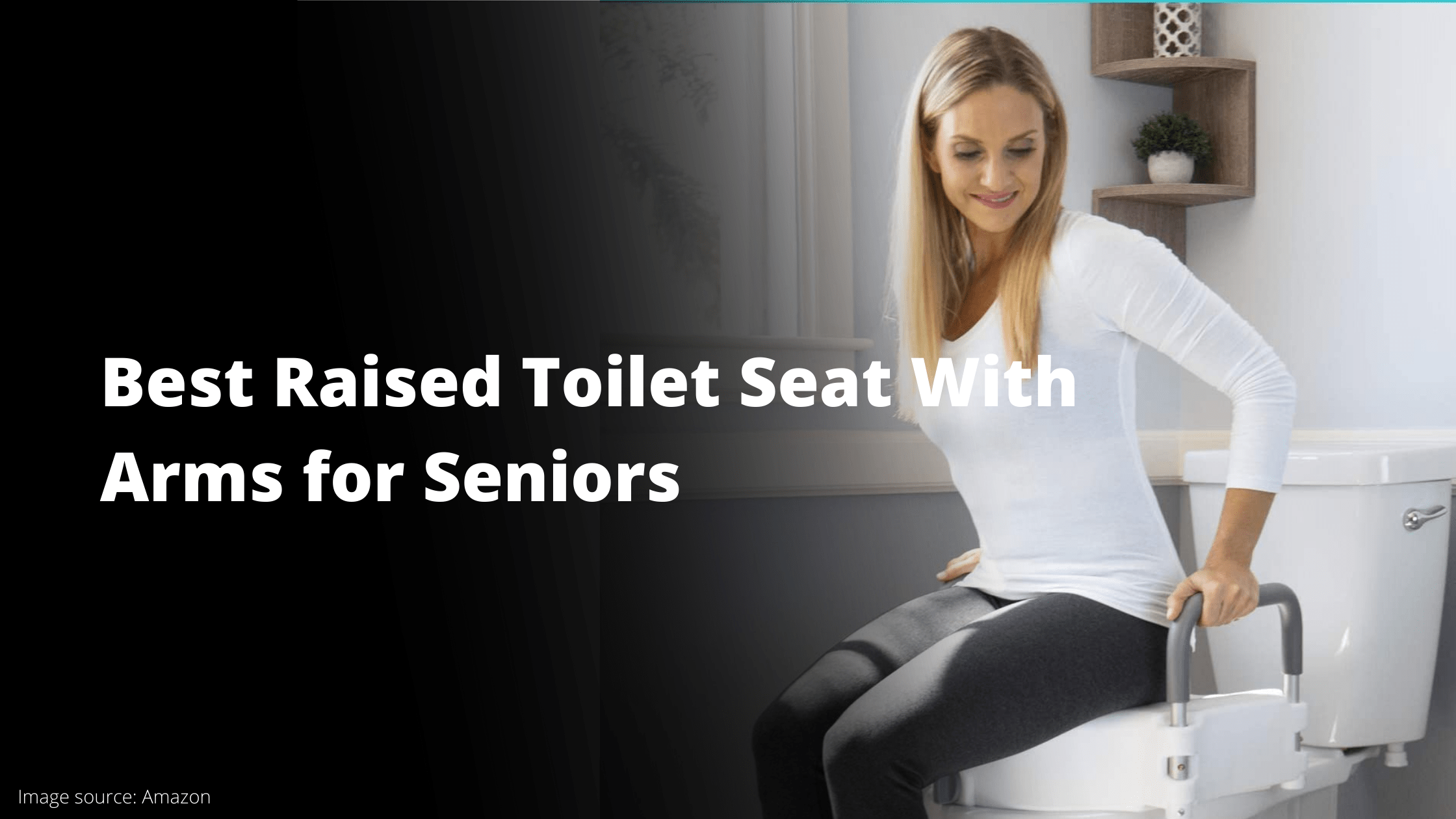 Best Raised Toilet Seat with Arms For Seniors