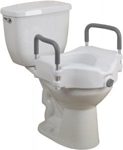 Drive Medical elevated raised Toilet seat