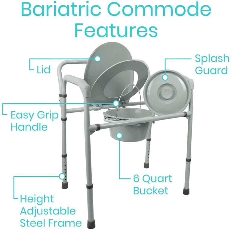 Bariatric Commode features