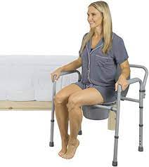 Vive Bariatric Bedside Commode Chair