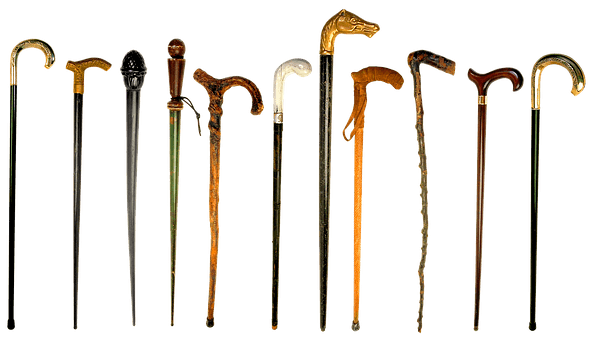 Types of walking canes