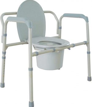 Drive Medical Heavy Duty bedside Commode Chair